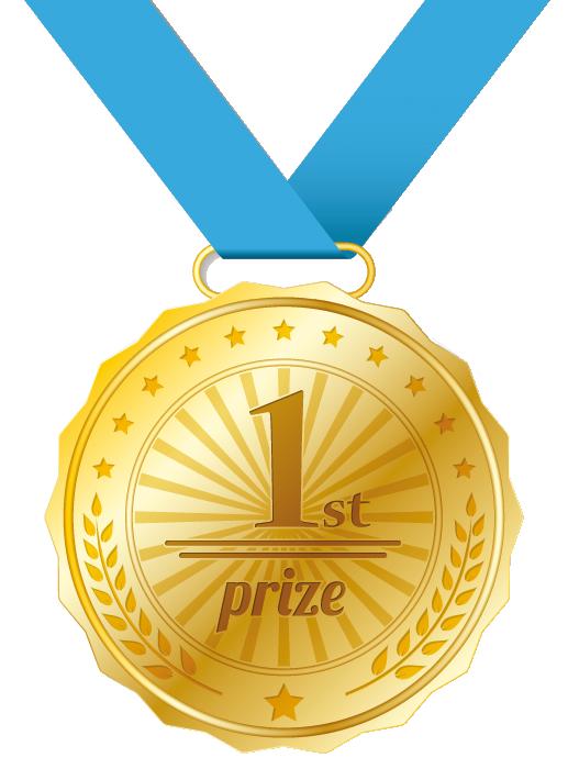 gold medal winner transparant